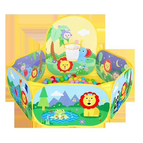 儿童游戏球池